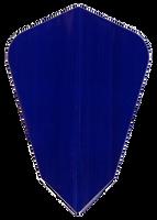 theDartZone Premium Flights - Fantail - Blue
