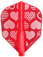 Fit Flight AIr Juggler Queen - Cute Hearts - Shape