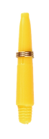 theDartZone - Nylon Shaft - Extra Short Yellow (27mm)