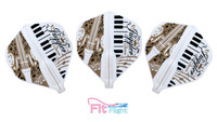 Fit Flight Juggler Queen - Standard - Music 2 - White