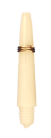 theDartZone - Nylon Shaft - Extra Short Bright White (27mm)
