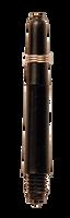theDartZone - Nylon Shaft - Short Black (35mm)