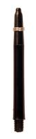 theDartZone - Nylon Shaft - Medium Black (48mm)