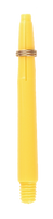 theDartZone - Nylon Shaft - In Between Yellow (42mm)