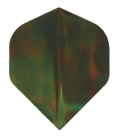 Metallic Flights - Standard - Quazar Green Lumiglow