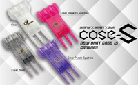 Cosmo Fit Case-S - Clear Purple Sparkles