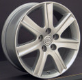 "17"" Fits Lexus ES 350 Wheels Rims Silver Set of 4 17x7 Hollander 74190"