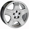 "18"" Fits Lexus LS430 Toyota Wheels Hyper Black Set of 4 18x7.5 Rims"
