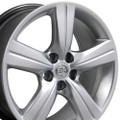 "18"" Fits Lexus GS Wheels Hyper Silver Set of 4 18x8"" Rims"