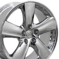 "18"" Fits Lexus LS460 Toyota Wheels Chrome Set of 4 18x8 Rims"