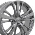 """19"""" Fits Lexus RX350/RX450H Wheels PVD Chrome Set of 4 19x7.5 Rims Hollander #74254"""