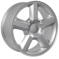 "20"" Fits Chevrolet Wheels Tahoe Silverado Suburban Silver Set of 4 20x8.5 Rims Hollander 5308"