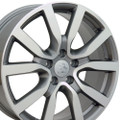 "18"" Fits Volkswagon Golf Wheels Gunmetal Machined Face 18x7.5"" Rims"