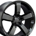 "20"" Fits Dodge Charger Challenger 300 Mopar SRT Wheels Gloss Black Set of 4 20x9 Rims Hollander 2360"