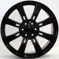 "20"" Fits Cadillac- Escalade Chevy GMC Tahoe Silverado Sierra Yukon Wheel Rim Gloss Black Set of 4 20x8.5  - Hollander # 5409"