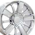 "20"" Fits Chevrolet - Chevy Silverado Tahoe High Country Style Wheels - Set of 4 Chrome 20x9 Rims GMC Sierra"