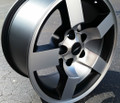 "18"" Ford Lightning Wheels F150 SVT Style - Rare Machined Black 18x9.5 Rims - Set of 4"