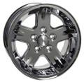 "15"" Fits Jeep New Wrangler Wheel Chrome 15x8"
