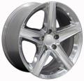 "20"" Fits Jeep New Grand Cherokee Wheel Polished 20x9 - Hollander 9062 9082"