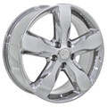 "20"" OEM Jeep Grand Cherokee Overland Summit Edit 9107 Wheel Chrome 20x8"""