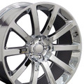 "20"" Chrysler 300 SRT8 Charger Magnum Challenger Wheel Chrome Set of 4 20x9"" Hollander 2253"