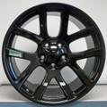 20'' Fit's SRT 10 Dodge Ram Viper SRT10 1500  Dakota Durango Wheels Gloss Black Rims Set of 4 20x9 Hollander 2223