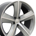 "20"" Fits Dodge Challenger SRT8 Charger 300 Mopar Wheel Rim Silver Set of 4 20x9"" - Hollander # 2329"
