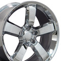 "20"" Fits Dodge Charger SRT8 Challenger SRT 8 Chrysler 300 Magnum Mopar Wheels Chrome Set of 4 20x9"" Hollander 2360"
