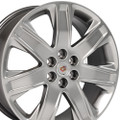 "20"" Cadillac SRX OEM Wheel Silver Set of 4 20x8"