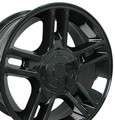"22"" Fits Ford® F150 Harley 5 Lug Wheels Gloss Black Set of 4 22x9.5 Hollander 3410"