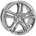 "22"" Fits Ford®  Edge Wheel Chrome Set of 4 22x9"