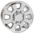 "18"" Fits Chevrolet GMC Sierra 2500 3500 Wheel Chrome Set of 4 18x8"""