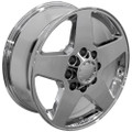 "20"" Fits Chevrolet Silverado GMC Wheel Chrome Set of 4 20x8.5 Rims"