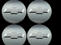 2014-17 Chevy Bowtie Center Caps Silverado Suburban Tahoe Chrome 3.25 Set of 4 Brand new Factory OEM