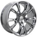 "20"" Fits Jeep Grand Cherokee Dodge Durango SRT8 SRT 8 2005-2013 Style Wheels Chrome Set of 4 20x10"" - Hollander 9113"