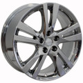 "18"" Nissan Altima Wheel PVD Chrome Set of 4 18x7.5"" Rims"