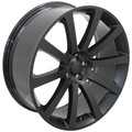 "22"" Fits Chrysler CL 300 SRT8 Charger Magnum Challenger Wheels Rims Matte Black Set of 4 22x9"""