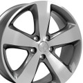 "20"" Fits Jeep Grand Cherokee 2015 Gunmetal Machined Face Wheels 20x8"" Rims"