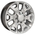 """20"""" Fits Dodge Ram 2500-3500 Hyper Silver Wheels with Chrome Inserts Set of 4 20x8"""" Rims"""