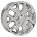 "20"" Fits Dodge Ram 2500-3500 Chrome Wheels with Chrome Inserts Set of 4 20x8"" Rims"