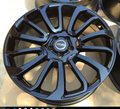 "22"" Fits Range Rover Autobiography Wheels HSE Sport Land Rover Gloss Black Rims 22x9.5"""