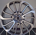 "22"" Fits Range Rover Autobiography Wheels HSE Sport Land Rover Machined Gunmetal Rims 22x9.5"""