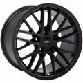 "17"" Chevrolet Corvette C6 ZR1 Wheel Satin Black 17x9.5"" Rim"