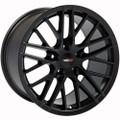 "18"" Chevrolet Corvette C6 ZR1 Wheel Satin Black 18x10.5"" Rim"