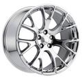 "20"" Hellcat Style wheels Chrome SRT Style Jeep Grand Cherokee Durango Dodge Wheels Rims Set 20x9"" Rims"