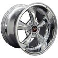 "17"" Fits Ford Mustang® Bullitt Wheel Chrome 17x10.5"""