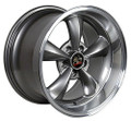 "17"" Fits Ford Mustang® Bullitt Wheel Anthracite with a Fine Machined Lip 17x9"" Rim"
