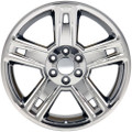"22"" Fits Chevrolet 2015 Silverado Tahoe CK160 Wheels Rims Chrome 22x9"" Rims Hollander # 5664"