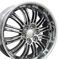 "22"" Fits Cadillac Escalade GMC Chevy Replica Wheel Chrome 22x9 Hollander 5413 CK173"