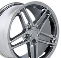 "17"" Fits Camaro Corvette C6 Z06 Wheel Chrome 17x9.5"" Rim OE Spec"